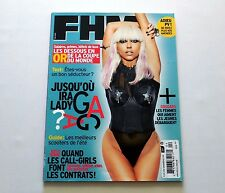 Lady Gaga FHM French Edition Magazine May 2010