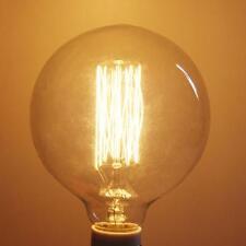 40W 220V E27 del bulbo de la bombilla incandescente de Edison G125 Globo