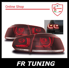 VW GOLF 6 VI GTI LOOK FANALI FARI POSTERIORI LED LEXUS TUNING ROSSO CHERRY