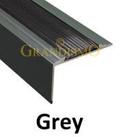 Stair Edge Nosing - Grey - Trim Step Nose Edging Nosings Carpet