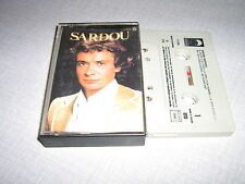 MICHEL SARDOU K7 AUDIO FRANCE EN CHANTANT 2