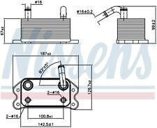 Nissens 90779 Engine Oil Cooler [Next working day to UK!]