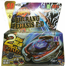 BIG Bang pegasis Pegasus BEYBLADE 4D TOP METAL FUSION lotta Utilità di avvio principale Toys