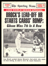1969 OPC O PEE CHEE #165 WS GAME 4 LOU BROCK BOB GIBSON win EX-NM DETROIT TIGERS