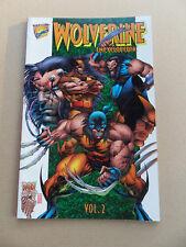 Wolverine Encyclopedia  2 of 3 .   Marvel 1996 . VF +