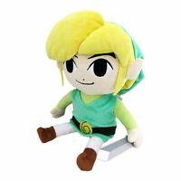 "Little Buddy Toys Authentic Legend of Zelda Wind Waker HD Plush 12"" Link New"