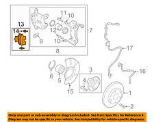 KIA OEM 11-15 Sportage Brake-Front Pads 581012SA51