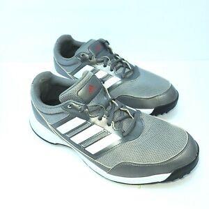Adidas Men's US Size 9 Tech Response 2.0 Golf Shoes Grey/Silver/White EE9420