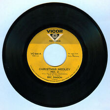 Philippines ERIC DIMSON Christmas Medley No. 2 OPM 45 rpm Record