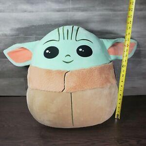 "20"" Star Wars The Child Squishmallows Plush  Mandalorian - New NWT In Hand"
