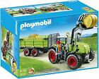 PLAYMOBIL 5121 Hay Baler with Trailer Tractor with Wagon Green Deere NEW SEALED