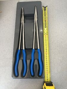 Blue-Point Tools Bluepoint  X Long Plier Set BDGPL200XLR - As Sold By Snap On