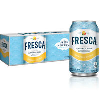 Fresca Grapefruit Citrus Sparkling Soda Water 12 oz Cans (Pack Of 12)