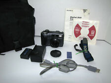 Sony Cyber-shot DSC-S85 4.1MP Digital Still Camera Bundle - Black Working !!
