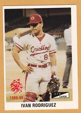 IVAN RODRIGUEZ CRIOLLOS DE CAGUAS 1989-90  PUERTO RICO #C-17, #051 OF 201