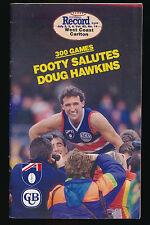 1993 AFL Football Record West Coast Eagles vs Carlton Blues July 2, 3 , 4