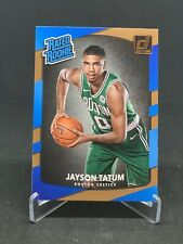 2017-18 Donruss Rated Rookie #198 Jayson Tatum Boston Celtics