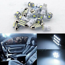 White Interior LED Light Package 12X 12V Fit Lexus GS300 GS400 GS430 LG1W 98-05