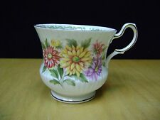 Queen's Rosina China Teacup Tea  Special Flowers, September Aster