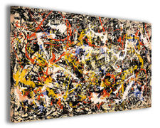Quadro moderno Jackson Pollock vol VIII stampa su tela canvas arredamento poster