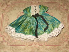 Reduced! Handmade Silk Dress By Atomic Blythe For Custom Blythe Dolls. Euc.