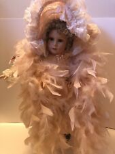 GUSTAVE F. WOLFF WIMBLEDON COLLECTION PORCELAIN DOLL TIFFANY #A-158 great condit