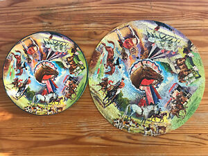 Springbok Horses Circular Jigsaw Puzzle Over 500 Pieces 1960's Vintage Missing 2