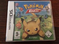 Pokemon Dash (Nintendo DS) Complete Rare UK PAL Kids 3DS