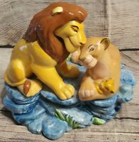 Disney Lion King, Simba Nala &Cub Music Box By Schmid FullyFunctional 1994