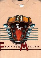 FRANKIE MILLER 1982 STANDING ON THE EDGE TOUR VINTAGE LARGE TEE T SHIRT WITH TAG