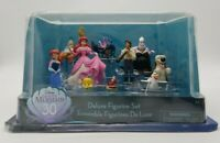 Disney The Little Mermaid 30 Years Deluxe Figurine Set Cake Topper New in Box