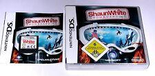 "Nintendo DS juego ""Shaun White snowboard"" completamente"