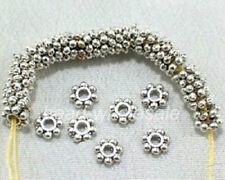 400pcs 1000Pcs Tibetan Silver/Golden/Bronze Daisy Spacer Beads Findings 4mm