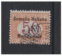 Somalia - 1906/8, 50c Postage Due stamp - G/U - SG D22