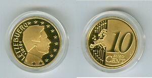 Luxembourg 10 Cent Pp / Proof (Choisissez Entre : 2002 - 2017)