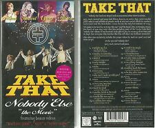 """RARE / K7 VIDEO TAPE - TAKE THAT : NOBODY ELSE """" THE MOVIE """" COMME NEUF LIKE NEW"""