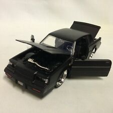 "1987 Buick Grand National Collectible, 8.5"" Die Cast 1:24 Scale Jada Toys Black"
