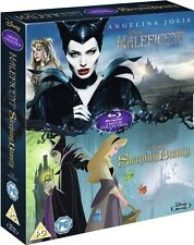Disney's Maleficent/Sleeping Beauty Movies Double Pack Blu-ray *Free Shipping*