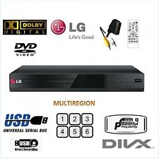 LG DP132  Multi ALL Region Free all Format DVD PLAYER USB XVID SCART NO HDMI