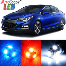 14 x Premium Xenon White LED Lights Interior Package Upgrade for Chevy Cruze