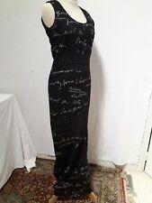 ROBE LONGUE dentelle été KENZO JEANS T.L ou 42 Long black lace dress KENZO sz L