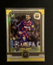 Topps UCL Museum 2019/20 Lionel Messi Gold /50... Number 1/50