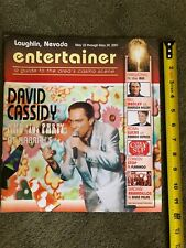 entertainer MAGAZINE 2001 David Cassidy Cover May 23 PARTRIDGE FAMILY TV STAR