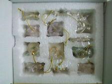 Lenox Wedding 12 miniature Tree Ornaments set New-in-Box
