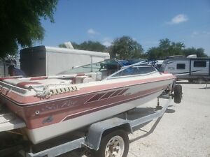 "1987 Sea Ray 16'6"" Bowrider & Trailer - Florida"