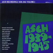 Various Artists - Asch Recordings 2 1939-45 / Various [New CD]