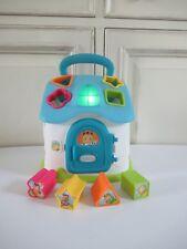 ♥Jouet Smoby Maison De Tri Des Formes Électronique Cotoons Bleu Lumineux Complet
