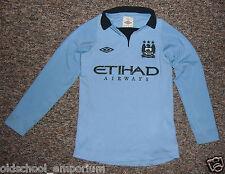 Manchester City / 2012-2013 Home - UMBRO - JUNIOR Shirt / Jersey. Size: 134cm SB