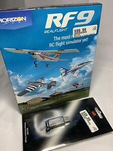 RealFlight 9 9.5 RC Flight Simulator + SPEKTRUM Transmitter DONGLE