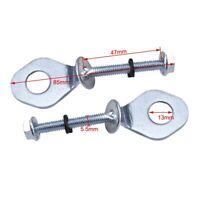 2pcs/set 12mm Chain Tensioner Adjuster For Honda CRF/ XR 50 70 KLX 110 Pit Bike